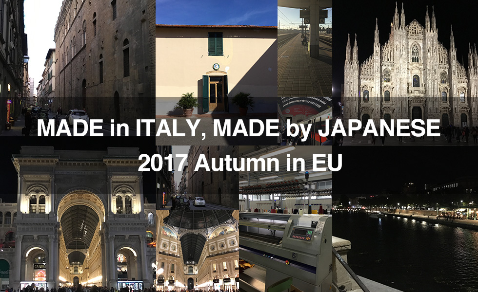 MADE in ITALY, MADE by JAPANESE